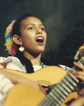 Reyna Somarriba joven
