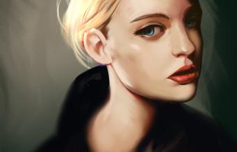 Portrait study 13
