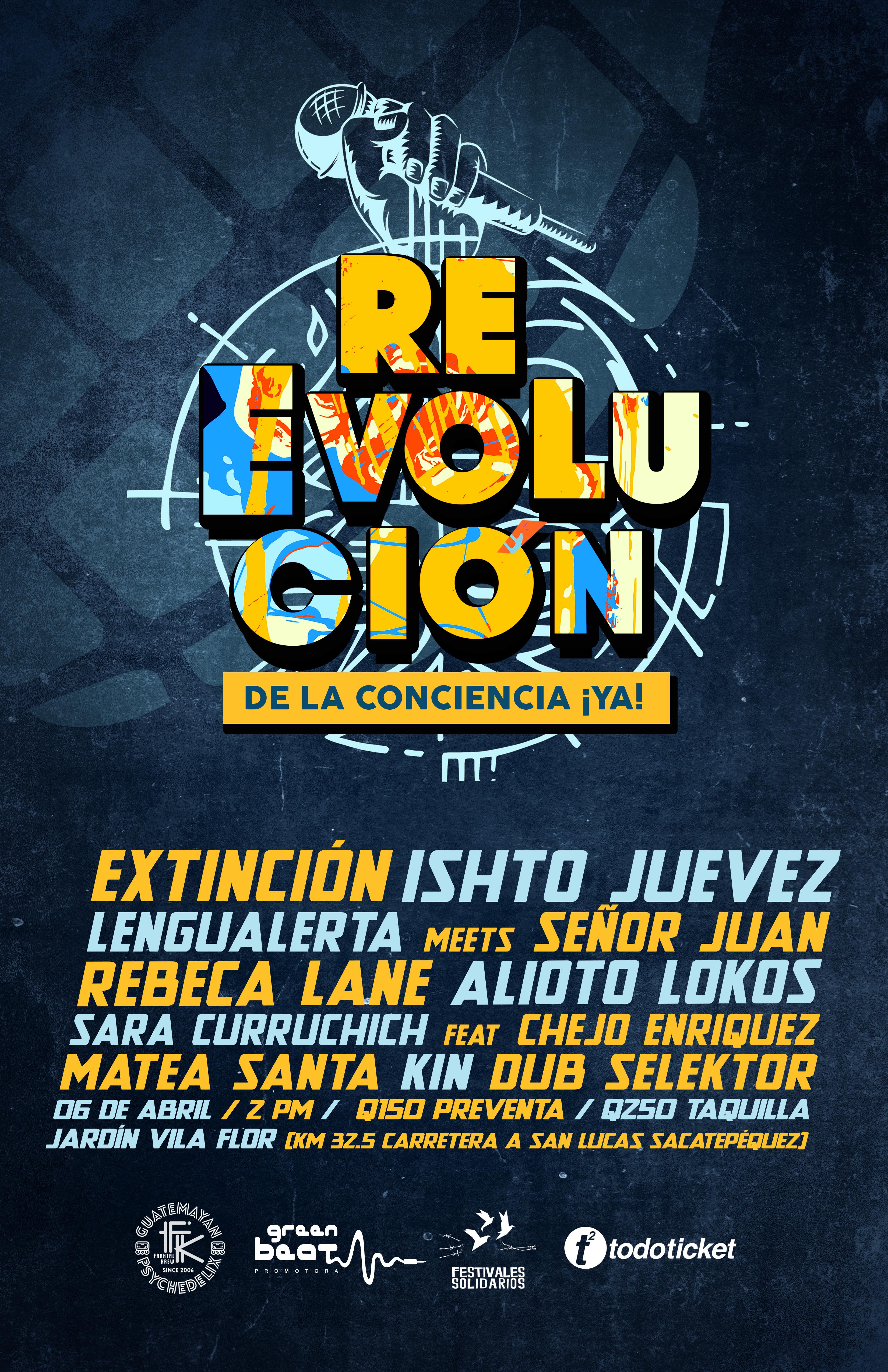 Flyer Festival Alta Reevolucion